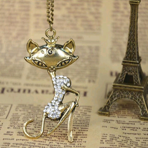 Marilyn Meow Cat Pendant