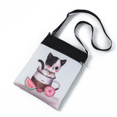 Teacup Kittens Messenger Bags