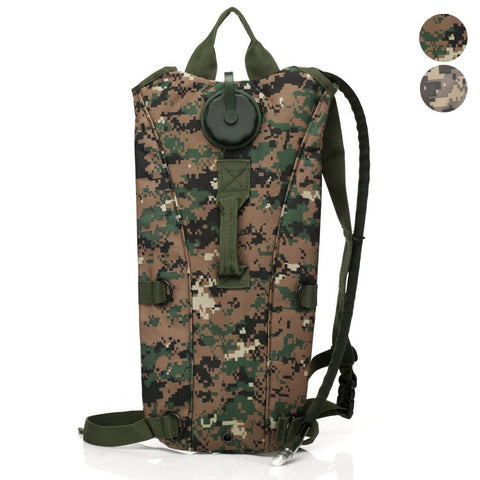 Tactical Digital Camo Hydration Backpack