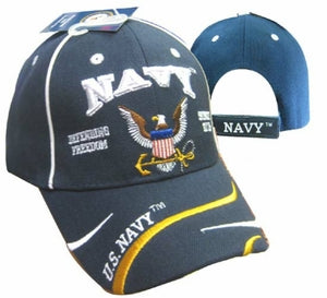 "US Navy ""Defending Freedom Hat with Eagle and Anchor---50"