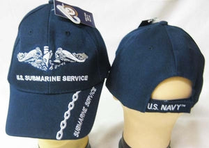 "US Navy ""Submarine Service"" With Chain- - 71"