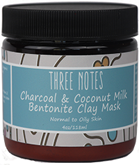 Charcoal & Coconut Milk Bentonite Clay Mask