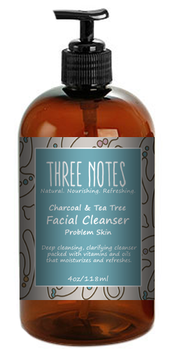 Charcoal & Tea Tree Cleanser