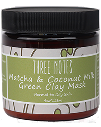 Matcha and Coconut Milk Green Clay Mask