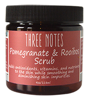 Pomegranate & Rooibos Tea Facial Scrub