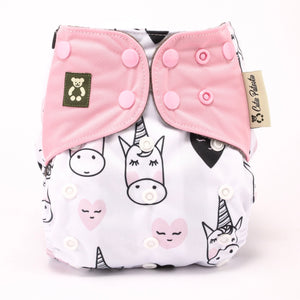 (Limited Edition) Unicorn Bedazzled - Cutie Patootie FlexiNappy Premium Best Cloth Diapers