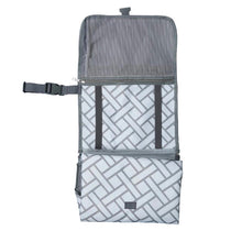 Load image into Gallery viewer, Pewter Clutch Changing Mat - Cutie Patootie FlexiNappy Premium Best Cloth Diapers