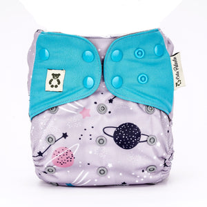 Galactic Enigma - Cutie Patootie FlexiNappy Premium Best Cloth Diapers