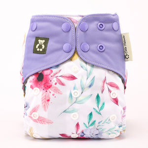 Summer Blooms - Cutie Patootie FlexiNappy Premium Best Cloth Diapers