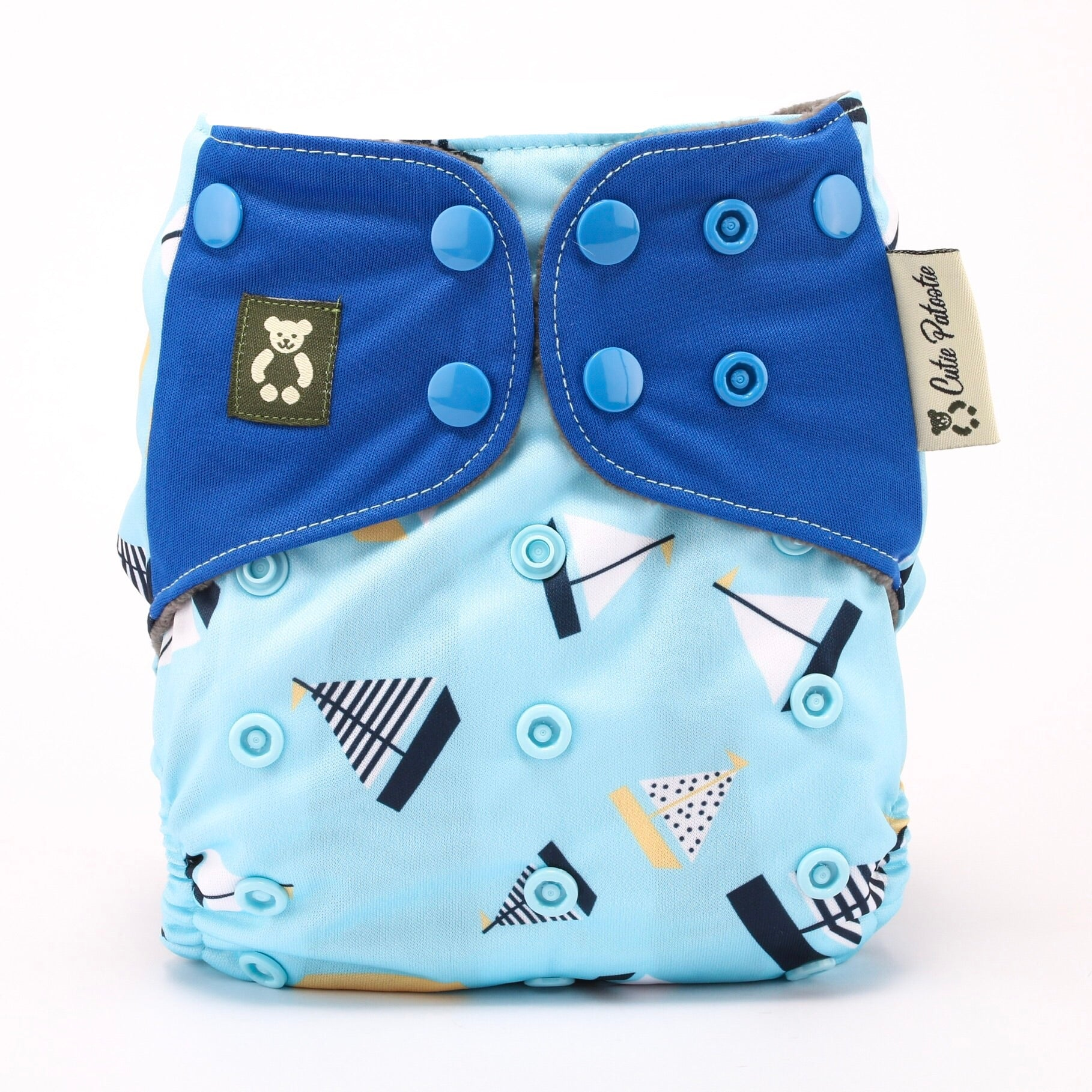 Marina Stroll - Cutie Patootie FlexiNappy Premium Best Cloth Diapers
