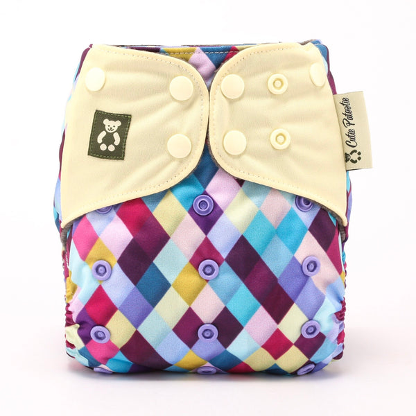 Abstract Expression - Cutie Patootie FlexiNappy Premium Best Cloth Diapers