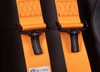 SFI 16.1 - 5PT RACING HARNESS - ORANGE