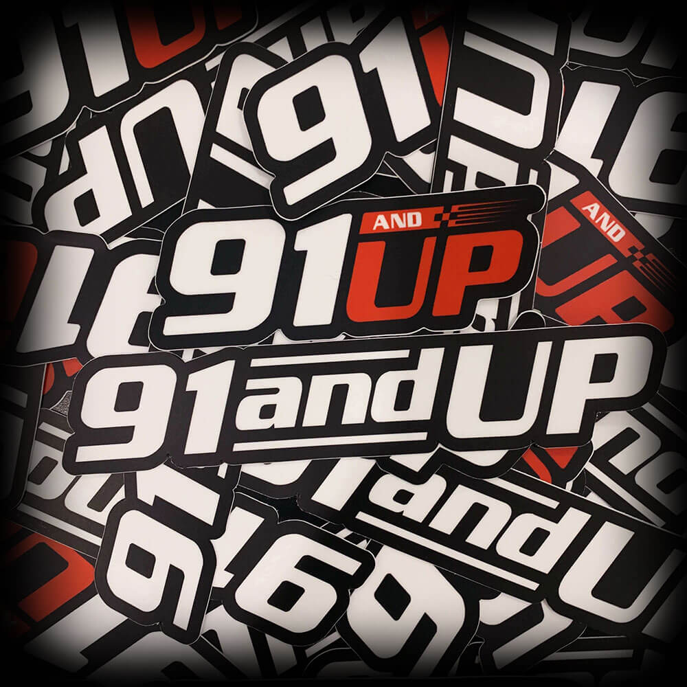 91andUP Slap Stickers