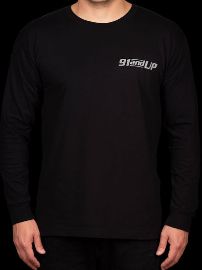 91andUP Slogan Long Sleeve - Front