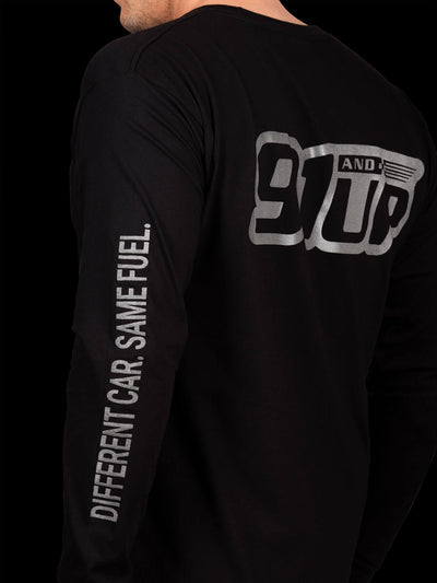 91andUP Slogan Long Sleeve - Side