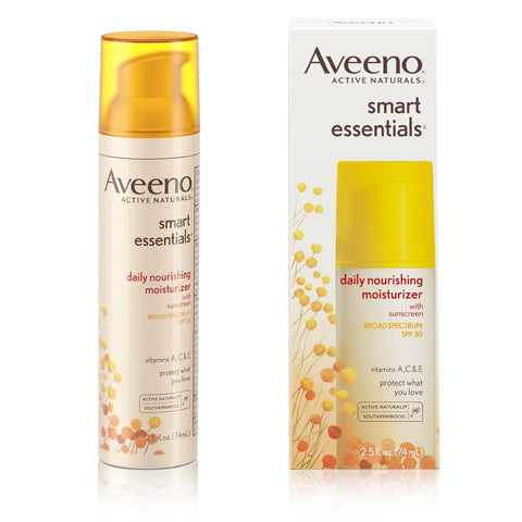 Aveeno Smart Essentials Daily Nourishing Moisturizer SPF 30 2.5 oz - Mr Bundle