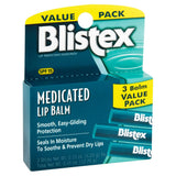 Blistex Lip Balm SPF 15 - 3 pack - Mr Bundle