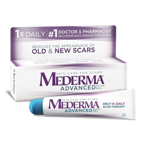 Mederma Advanced Scar Gel 0.7 oz - Mr Bundle