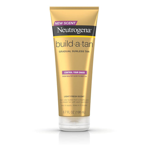 Neutrogena Build-A-Tan Gradual Sunless Tanning Lotion 6.7 oz - Mr Bundle
