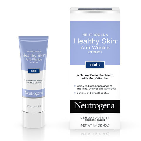Neutrogena Healthy Skin Anti-Wrinkle Cream Night 1.40 oz - Mr Bundle