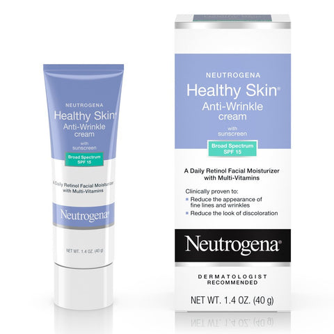 Neutrogena Healthy Skin Anti-Wrinkle With Sunscreen SPF 15 1.40 oz - Mr Bundle