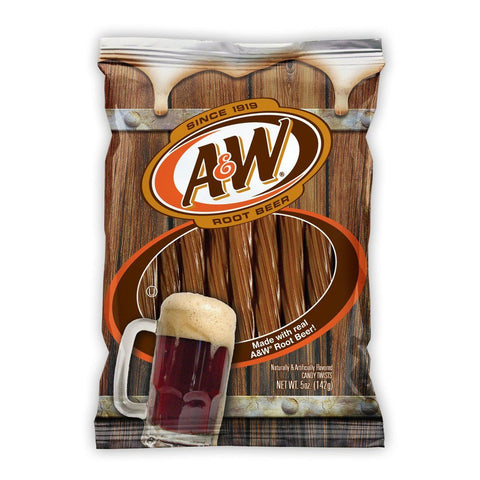 A & W Root Beer Twists 142g - Mr Bundle