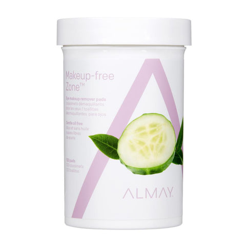 Almay Oil Free Gentle Eye Makeup Remover Pads 120 Ct - Mr Bundle