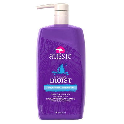 Aussie Mega Moist Conditioner 29.2 fl oz with Pump - Mr Bundle
