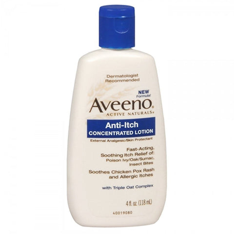 Aveeno Anti-Itch Lotion 4 oz - Mr Bundle