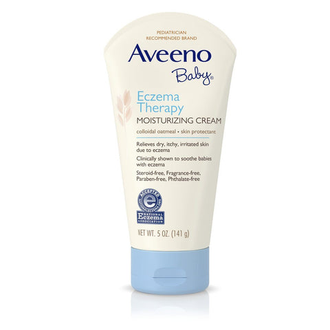 Aveeno Baby Eczema Therapy Moisturizing Cream 5 oz - Mr Bundle