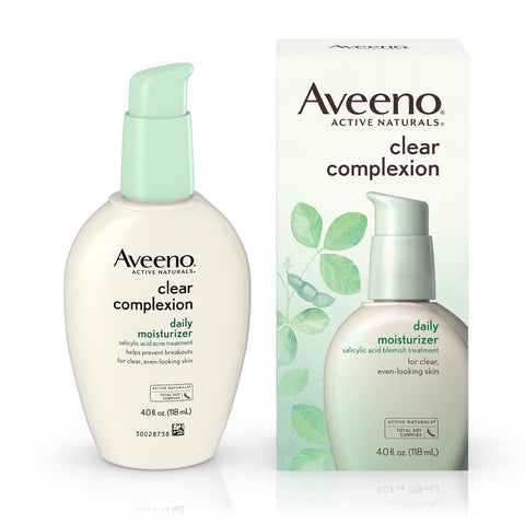 Aveeno Clear Complexion Daily Facial Moisturizer 4 oz - Mr Bundle