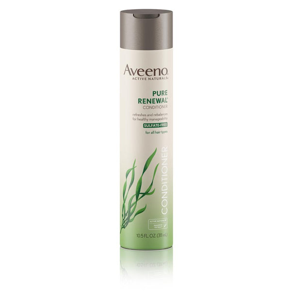 Aveeno Pure Renewal Hair Conditioner Sulfate-Free 10.5 fl oz - Mr Bundle