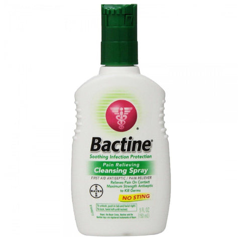 Bactine Pain Relieving Cleansing Spray 5 oz - Mr Bundle