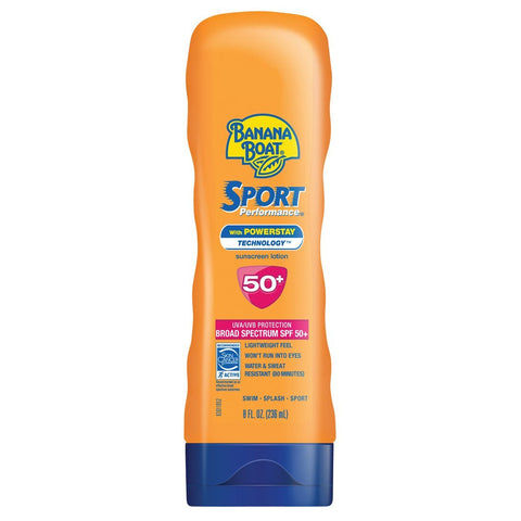 Banana Boat Sport Performance Sunscreen Lotion SPF 50 - Mr Bundle