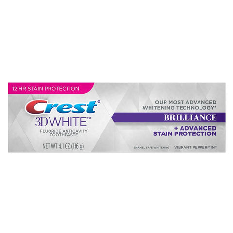 Crest 3D White Brilliance Toothpaste 4.1 oz - Mr Bundle