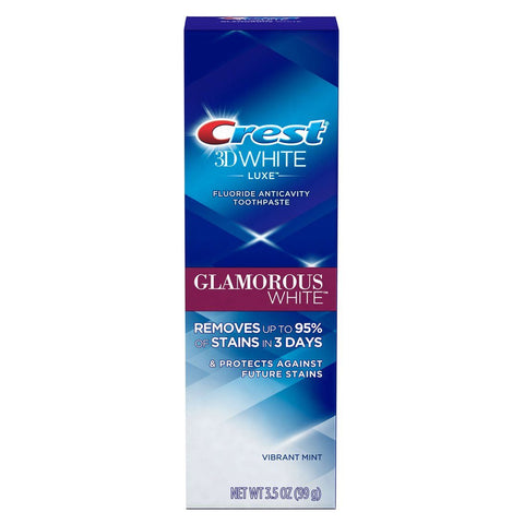 Crest 3D White Luxe Glamorous White Toothpaste 3.5 oz - Mr Bundle