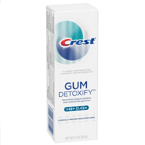 Crest Gum Detoxify Deep Clean Toothpaste 4.1 oz - Mr Bundle