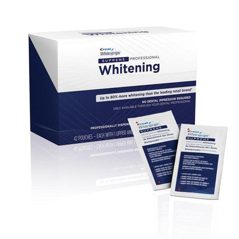 Crest Whitestrips Supreme Professional Whitening - Mr Bundle