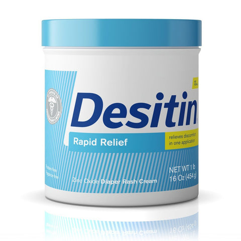 Desitin Rapid Relief Diaper Rash Cream 16 oz - Mr Bundle