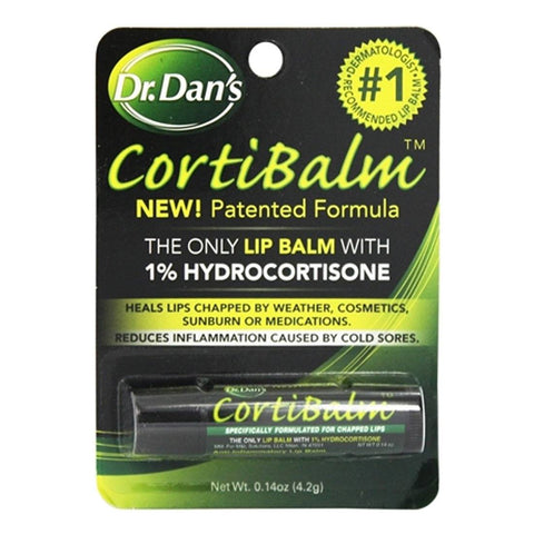 Dr Dan's Cortibalm Lip Balm 0.14 oz - Mr Bundle
