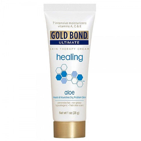 Gold Bond Ultimate Skin Therapy Cream Healing Aloe 1 oz - Mr Bundle