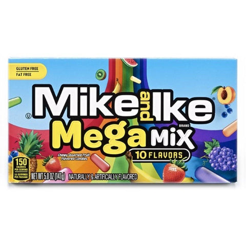 Mike & Ike Mega Mix Theatre Box 141g - Mr Bundle
