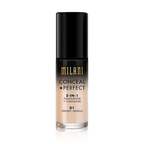 Milani Conceal + Perfect 2-in-1 Foundation + Concealer - Mr Bundle