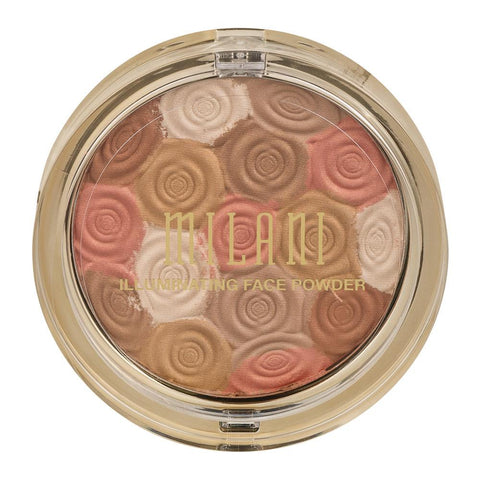 Milani Illuminating Face Powder Highlighter Bronzer & Blush - Mr Bundle