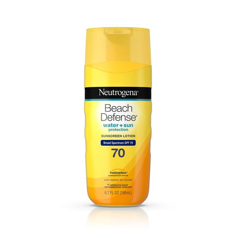 Neutrogena Beach Defense Sunscreen Lotion SPF 70 - Mr Bundle