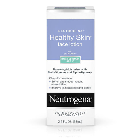 Neutrogena Healthy Skin Face Lotion SPF 15 2.5 oz - Mr Bundle
