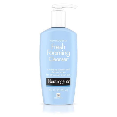 Neutrogena Fresh Foaming Face Cleanser And Makeup Remover 6.7 oz - Mr Bundle
