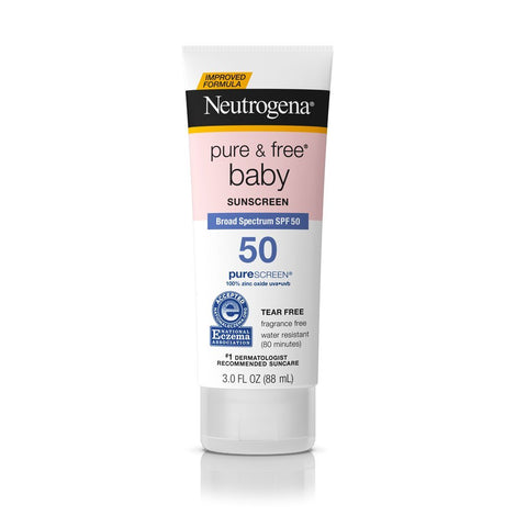 Neutrogena Pure & Free Baby Sunscreen SPF 50 - Mr Bundle