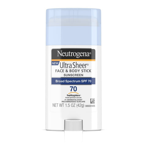 Neutrogena Ultra Sheer Face & Body Stick Sunscreen SPF 70 - Mr Bundle