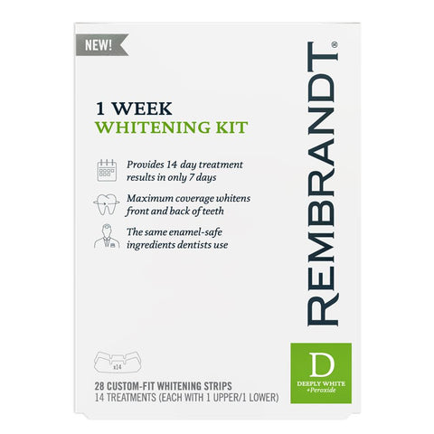 Rembrandt 1 Week Whitening Kit 14 treatments - Mr Bundle